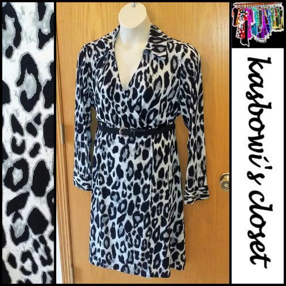 a22c070399d Lane Bryant Dresses   Skirts - LANE BRYANT Faux Wrap Knit Dress 18 20